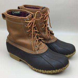 LL Bean Men's GoreTex Thinsulate Waterproof Boots